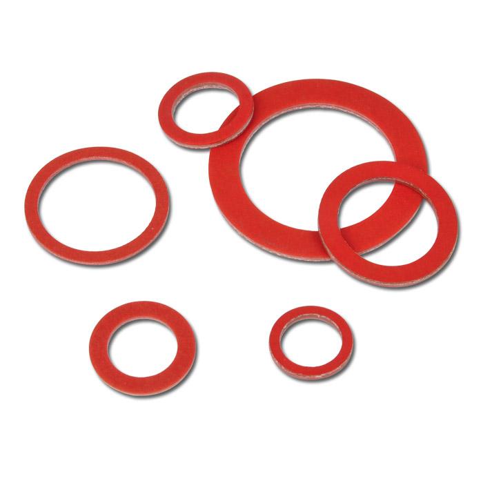 assortimento anelli di guarnizioni gomma fibra klingerith 141 pezzi. Black Bedroom Furniture Sets. Home Design Ideas